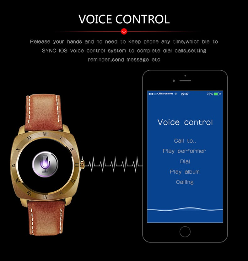 ถูก บลูทูธหุ่นยนต์ดูสมาร์ทS Mart W Atchกันน้ำอัตราการเต้นหัวใจอิเล็กทรอนิกส์สมาร์ทดูสำหรับiPhone 7 7บวก6วินาที6วินาทีพลัส6 6บวก