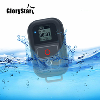 0.8 Inch Waterproof Wireless Wifi Remote Control for Gopro Hero 5 6 4 3+/3 with USB Charger Cable Remote Go pro Accessory
