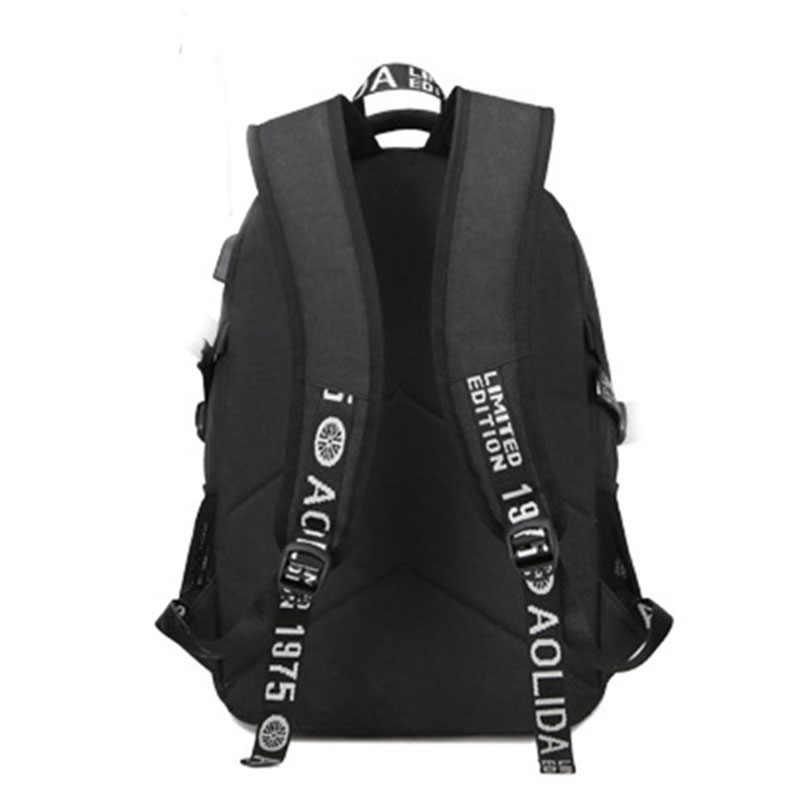 MAGIC UNION Men Laptop Backpack Women Oxford Waterproof Casual Backpack College Student Backpacks USB Charging Bag mochila