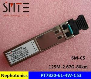 Nephotonics PT7820 61 4W C53 125M 2.67G 80km Fiber Optic Equipment Module|fiber optics equipment|fiber opticoptical equipment -
