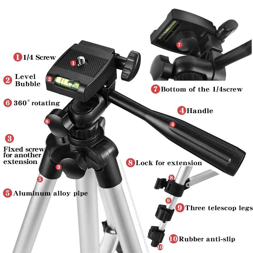 Tripod For Mobile Tripod Camera Dslr Stick Para Bluetooth Stand Monopod Cam Box Photo Holder Table Smartphone Tripod For Camera 1