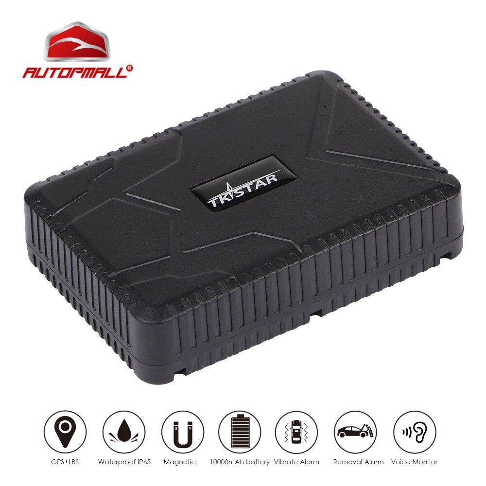GPS Tracker TK915 Auto Fahrzeug GPS Locator 10000 mah Batterie Standby 120 Tage Wasserdicht Magnet Zu Verlieren Alarm Kostenloser Web APP track