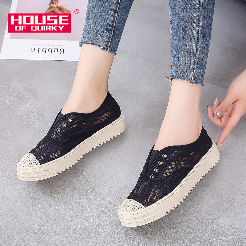 2019 New Flat Shoes Woman Breathable Round Head Lace Up Platform Shoes Women Casual Sports Shoes Ladies Spring Mesh Single Shoes2019 New Flat Shoes Woman Breathable Round Head Lace Up Platform Shoes Women Casual Sports Shoes Ladies Spring Mesh Single Shoes