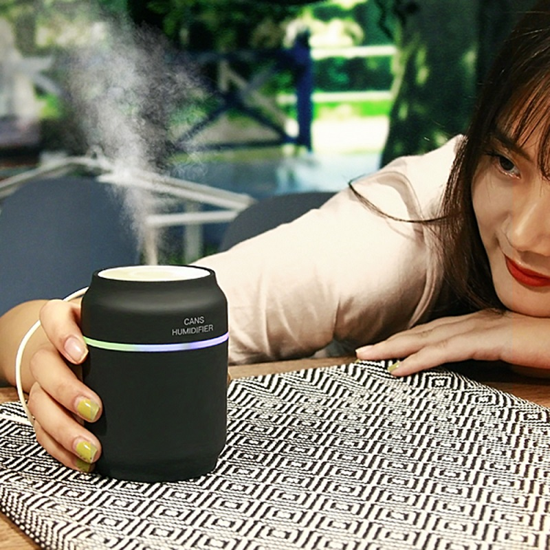 2018 Hot Selling 200ml High Quality USB Car Humidifier Cartoon Mini Portable Home Office Use Cute Humidifier with Night Light hot selling portable mammary device infraed red lights for women home use breast disease check