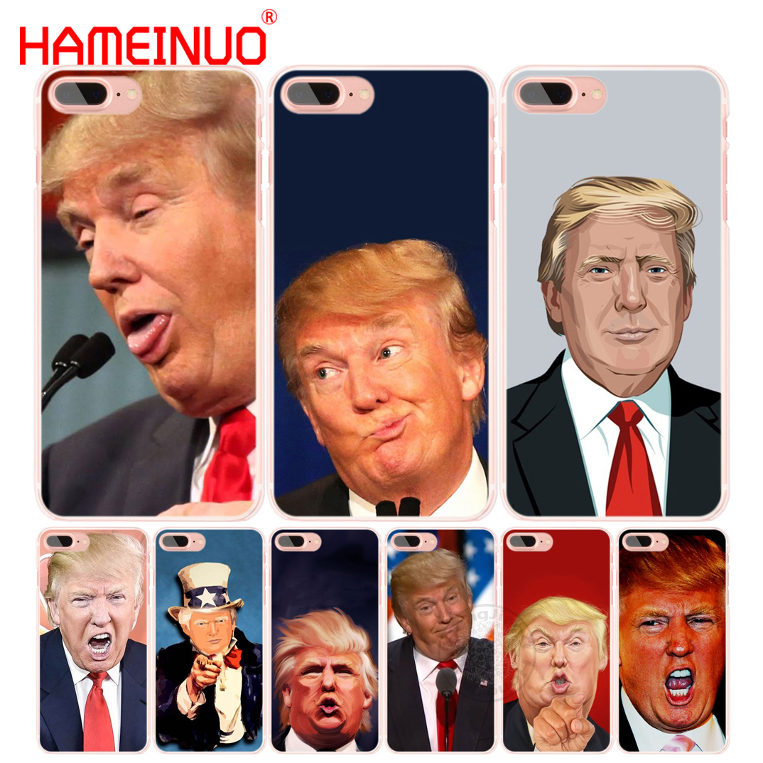 HAMEINUO Donald Trump stupid face cell phone Cover case for iphone 6 4 4s 5 5s