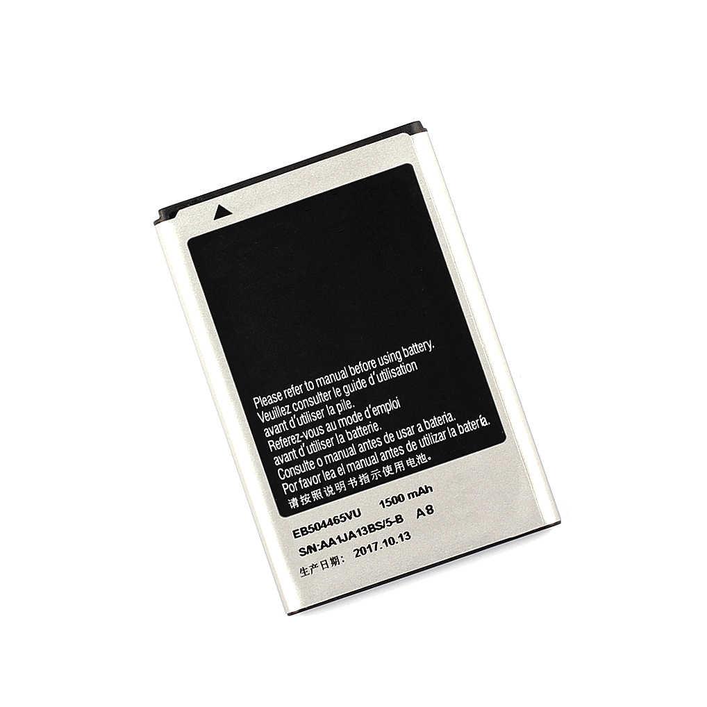 عالية الجودة استبدال البطارية EB504465VU لسامسونج S8530 S8500 i5700 W799 i5800 I5801 I329 B7620 I8700 B7330 1500 mAh
