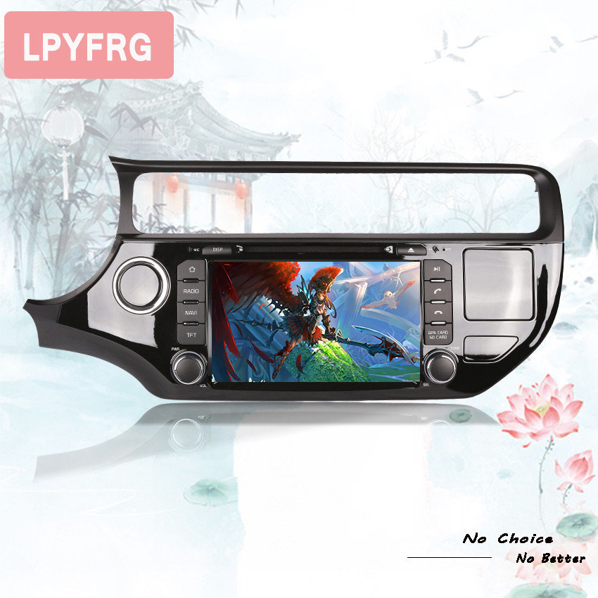 factory sell best 8core android 9.0 px5 rk3188 auto stereo car music video radio fm mp5 media gps monitor hd screen for rio 2015 - 3