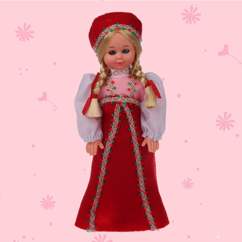 Russian Woman Clothes Ethnic Dolls 75Inch New Baby Ethnic -3359