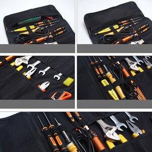 Image 5 - Oxford tuval araba araçları çantası oto tamir için taşınabilir bagaj organizatörü araç saklama kutusu kolu dayanıklı kurulum çantası