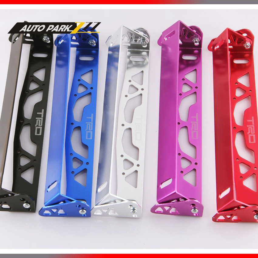 free shipping trd aluminum license plate frames frame tag holder foldablechina mainland