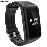 Wearpai K1 Continuous Heart Rate Monitor Smart Bracelet Fitness Tracker Smart Bracelet Heart Rate Monitor Waterproof