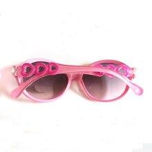 Kids Sunglasses Boys Anti-UV Sunglass Heart-shaped mirror legs Gafas Candy Color Children Oculos De Sol C07