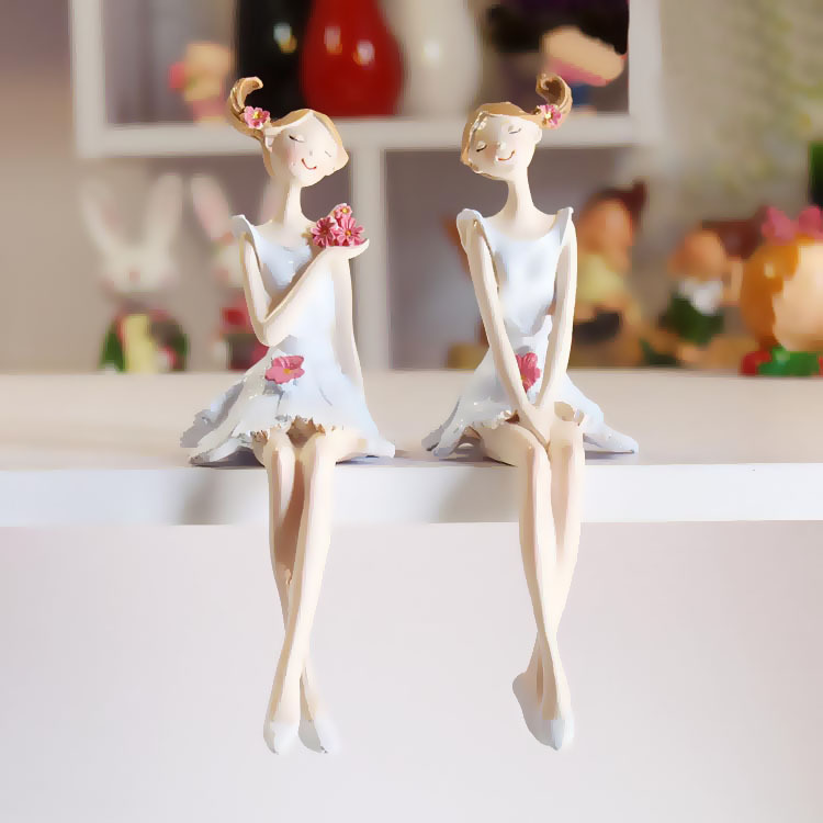 Buy Doll Furnishing Articles Resin Crafts Home Decoration: Aliexpress.com : Buy AIBEI Europe Style Resin Fairy