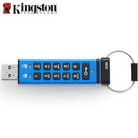 Kingston Pendrives 4gb 8gb 16gb 32gb 64gb Alphanumeric keypad Encrypted Disk on Key cle usb clef Memory Stick USB Flash Drive