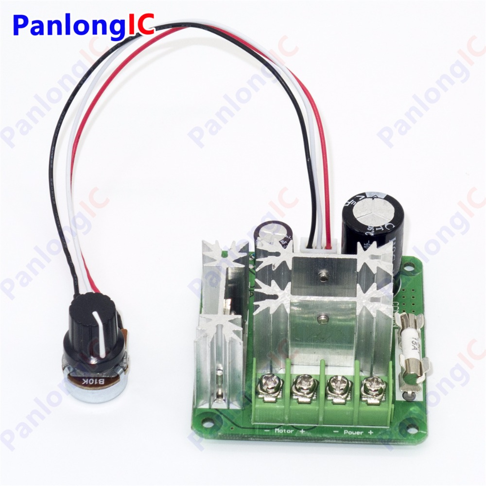 1000w 6v 90v 15a pulse width modulator pwm dc motor speed for Servo motor pulse width
