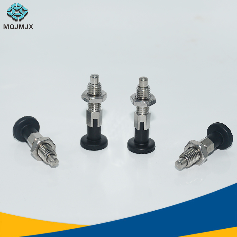Indexing Plungers Return Type And Rest Position Stainless Steel 303/Carbon Steel Coarse Thread Screw M6 M8 M10 M12