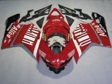 Red ABS Carenagem Trabalho Corporal Kit Para a DUCATI 1098 848 1198 1B 2007-2012 11 10 09 08 Motocicleta