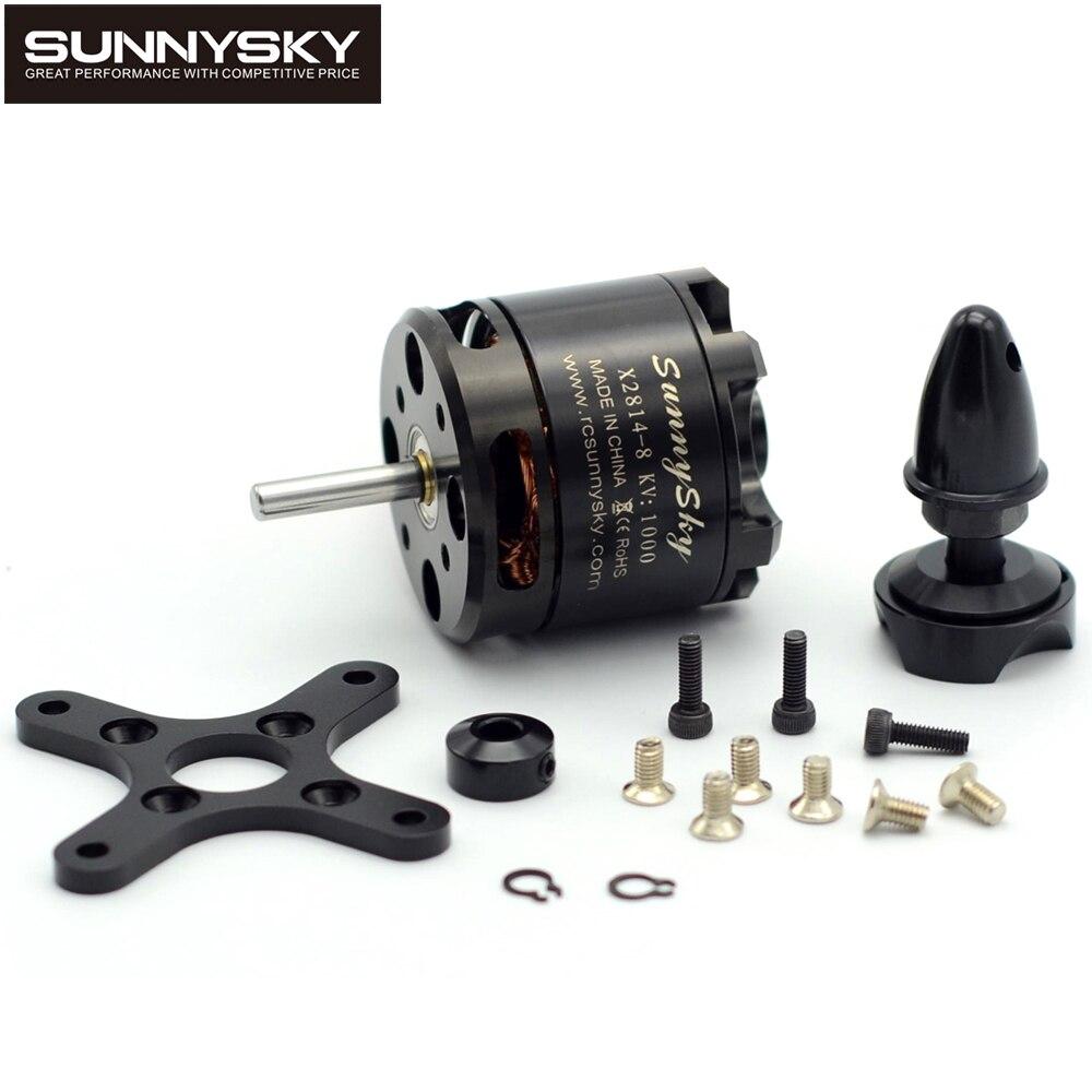 4 sztuk/partia SunnySky X2814 serii 900KV 1000KV 1100KV 1250KV 1450KV Outrunner z zewnętrznym wirnikiem silnik bezszczotkowy w Części i akcesoria od Zabawki i hobby na  Grupa 1