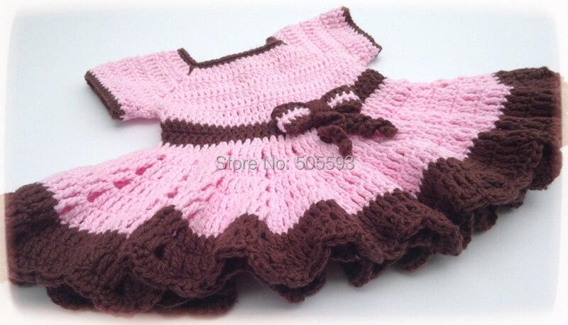 2014 Baby Girl Dress Handmade Dress Pattern Home Dress Newborn Frock