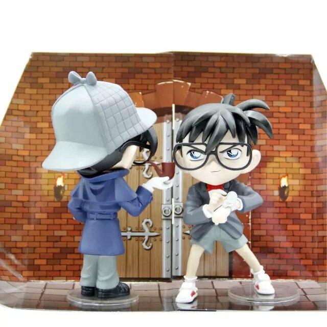 18 CM Conan Anime Action Figure Sammlung spielzeug für weihnachtsgeschenk mit kleinkasten...