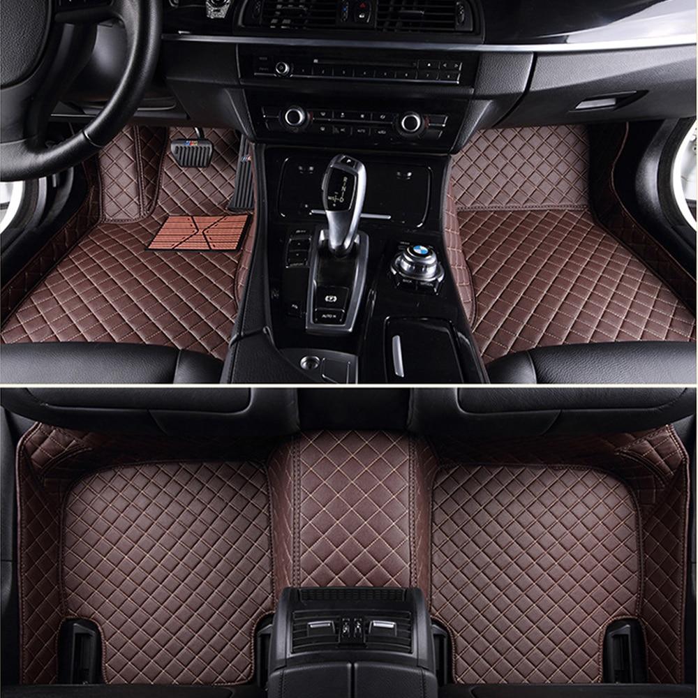 Car floor mats for Audi A1 A3 A4 A7 A8 Q3 Q5 Q7 TT 5D car-styling heavy duty all weather carpet floor linerCar floor mats for Audi A1 A3 A4 A7 A8 Q3 Q5 Q7 TT 5D car-styling heavy duty all weather carpet floor liner