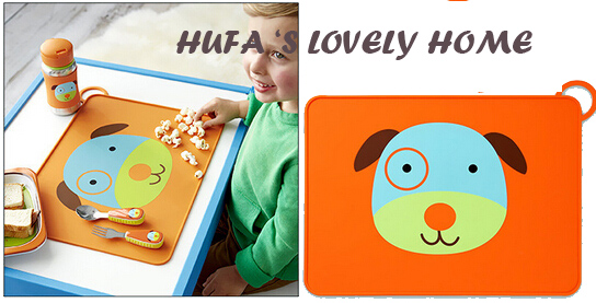 Carton Lovely Color Waterproof Silicone Anti Slip Heat Insulation Table  Mats Children Tabel Mat Coaster Kitchen Accessories In Mats U0026 Pads From  Home ...