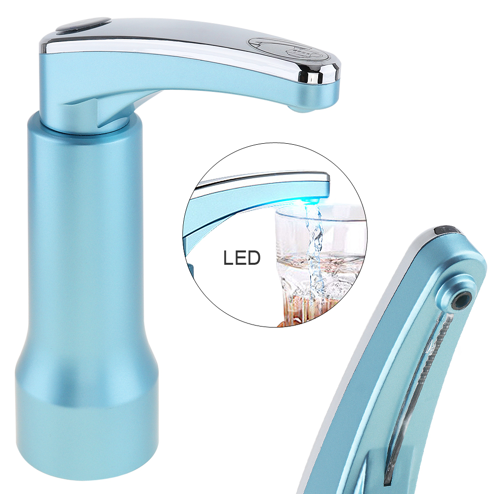 New Water Bottle Dispenser Rechargeable Electric Water Pump Charging or use will show different lights, use more secure