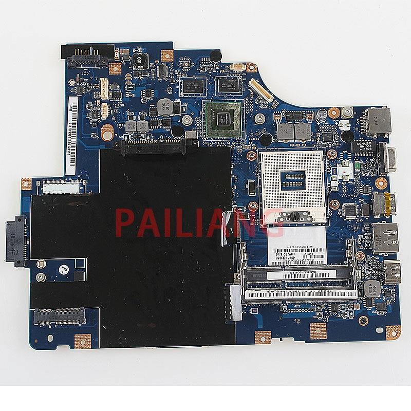 PAILIANG Laptop motherboard for Lenovo G560 Z560 PC Mainboard NIWE2 LA 5752P tesed DDR3
