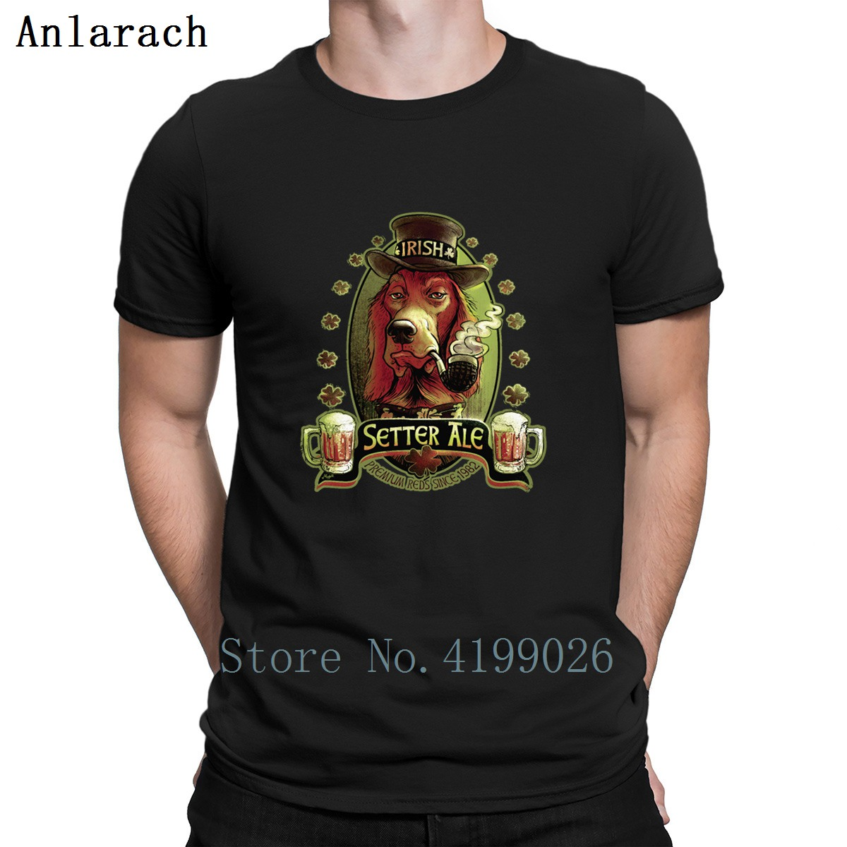 Irish Setter Red Ale Tshirt Hip Hop Designer Sunlight Natural Tshirt For Men Popular Solid Color Euro Size S 3xl Cute In T Shirts From Men S Clothing