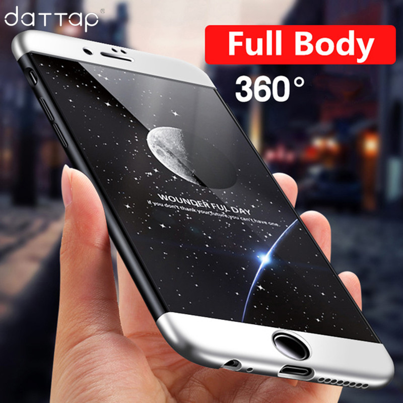 Collection Here 2 In 1 360 Full-body Protection Glitter Slim Tpu Case For Coque Iphone 7 8 Plus 6 6s Plus X 10 Funda Double Face Protector Cover Boys' Shoes