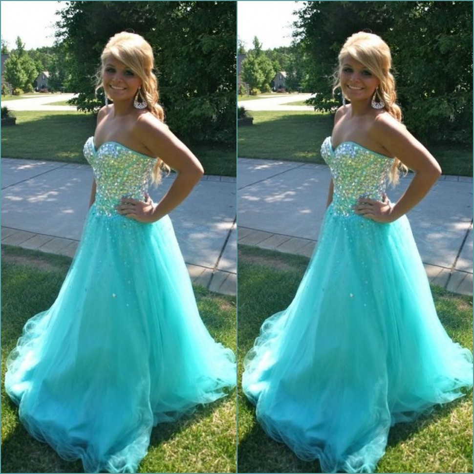 free shipping hot sexy bride tulle evening vestido de festa 2016 long party gown crystal beading sweetheart long   prom     dresses
