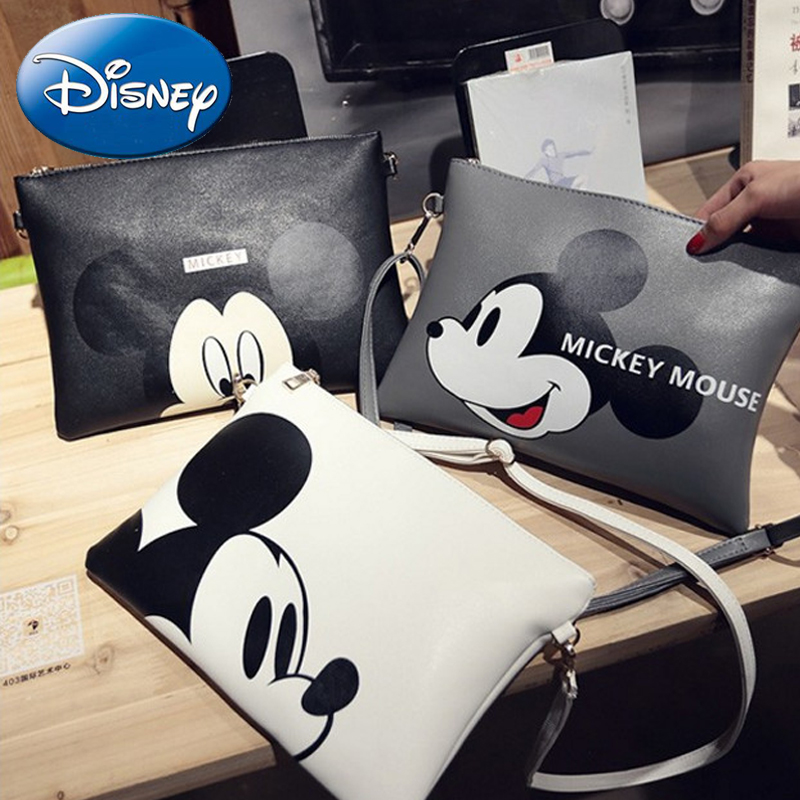 Baby Care Professional Sale Disney Women Wallet Mickey Girl Boy Clutch Cartoon Card-holder Purse Coin Wallets Mummy Bag Female Money Pu Leather High Quality Mother & Kids
