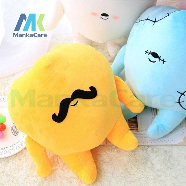 1 pc Big  tooth pillow Creative fashion cartoon pillow cushions appease accompany sleep doll dental gift teeth shape bolster
