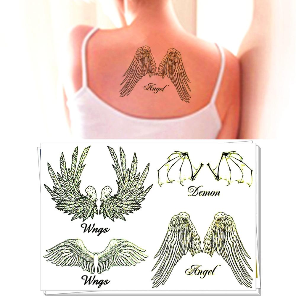 Nu Satanás O Demônio Taty Tatuagem Temporária Body Art Tattoo Flash Adesivos 21 15