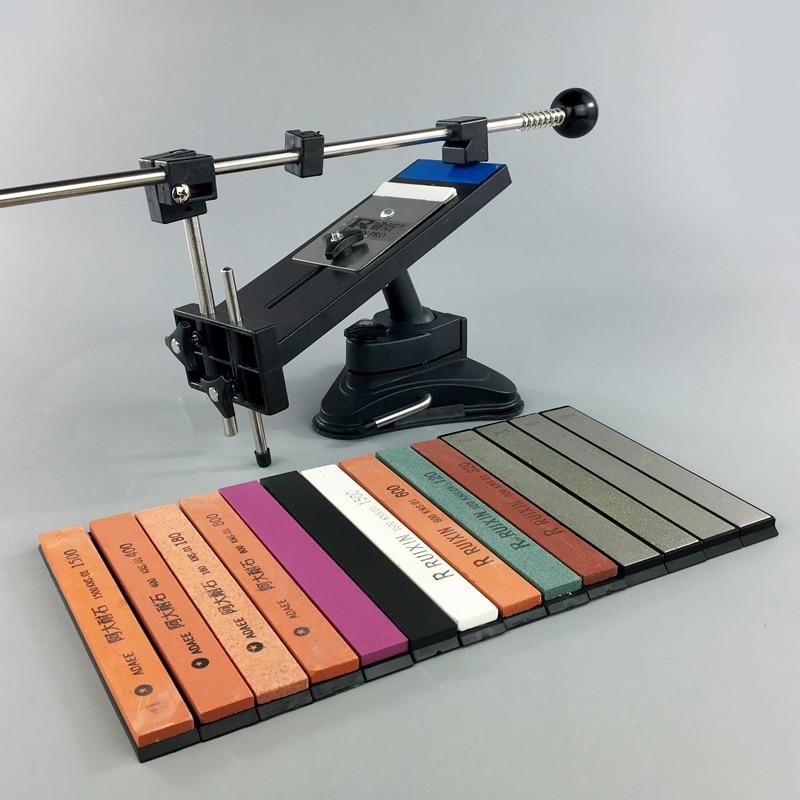 Ruixin Pro II Professionelle Messer Spitzer chef Messer Schärfen System Bleistift Apex rand Spitzer 4 schleifstein schärfen steine