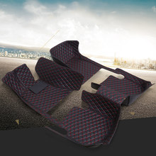 Car Floor Mats For Audi A6L R8 Q3 Q5 Q7 S4 S5 S8 RS TT Quattro A1 A2 A3 A4 A5 A6 A7 A8 Car Accessories Auto Sticks Custom Foot(China)