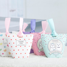 10 Pieces Style T Candy Box Wedding Favors Gifts Candy Paper Box Party Supplies Bonbonniere Baby Shower Birthday Party Candy Box