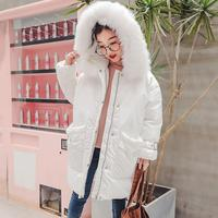 2018 New Baby Girls Down Coats Kids Winter Coat Thickened Warm Children Jacket Toddler Outerwear Snowsuit Christmas Clothes 30