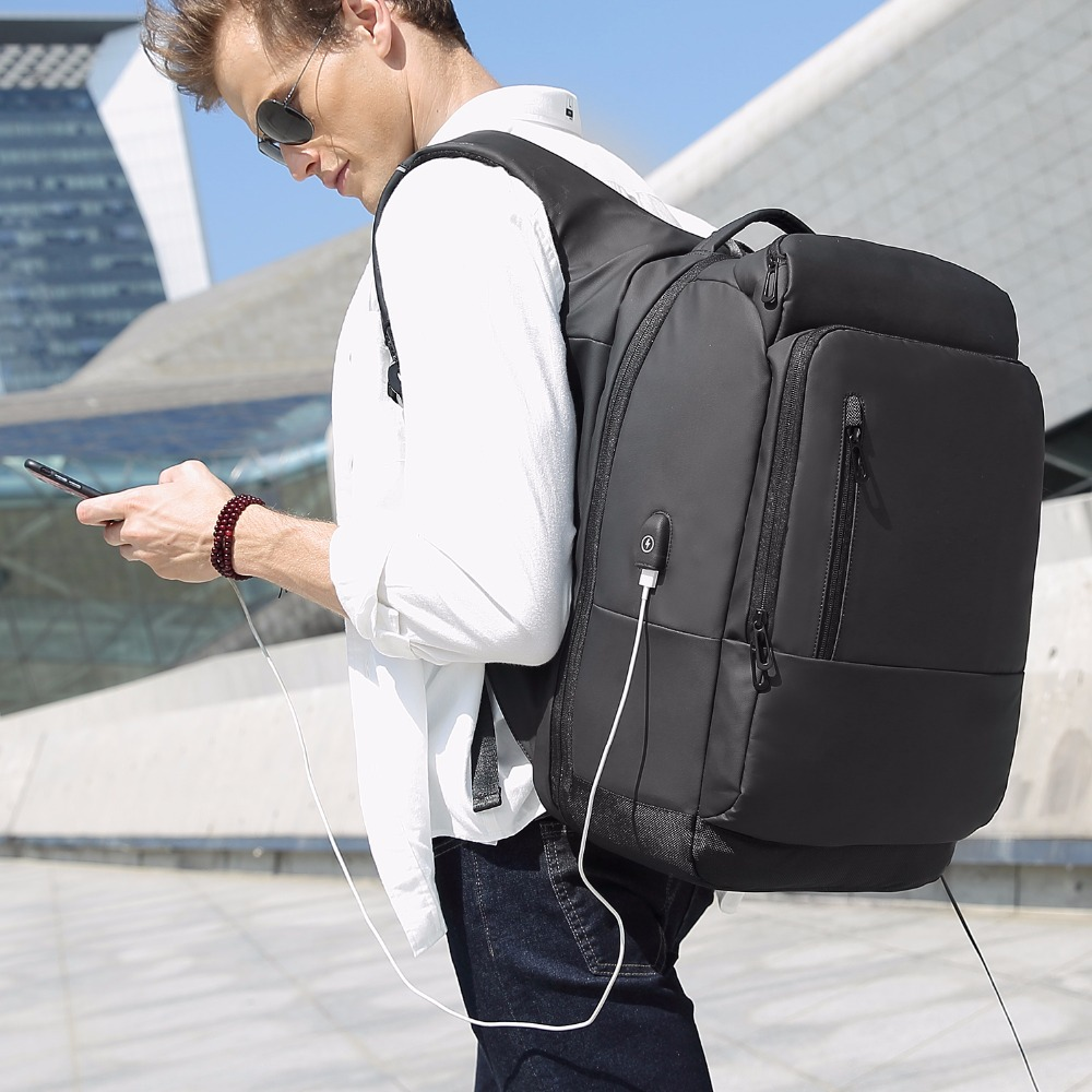 NIGEER Versatile Fashion Travel Bag Man Waterproof 16 Inch Laptop Backpack For Manen Teenage Girls School Party y1755 voyjoy t 530 travel bag backpack men high capacity 15 inch laptop notebook mochila waterproof for school teenagers students