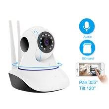 Yoosee cámara de seguridad para el hogar Dispositivo de vigilancia inalámbrico con Wifi de 1080P, Audio bidireccional, visión nocturna Pan/Tilt para Android/ IOS/PC