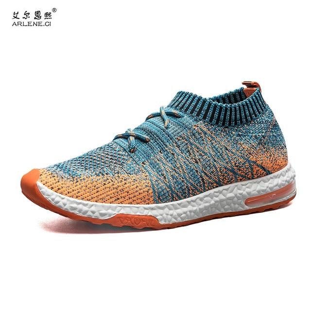 42fe23cb2a06c Scarpe da corsa Per Gli Uomini 2018 Nuovo Arrivo Primavera uomo scarpe Da  Ginnastica Sneakers Confortevole