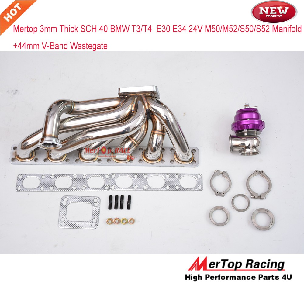 Mertop Race 3 0mm tube thickness STEAM PIPE for BMW T3/T4