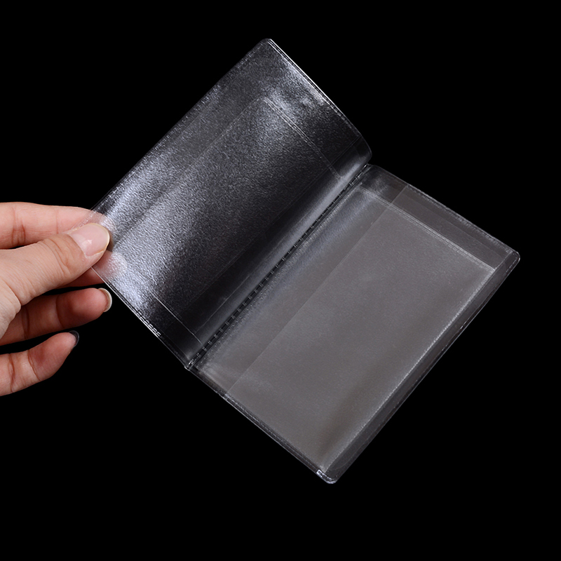 1PCS Hot Sale Driver's License Case Protect High Quality PVC Transparent Auto Documents Cover Car ID Card Holder Bags
