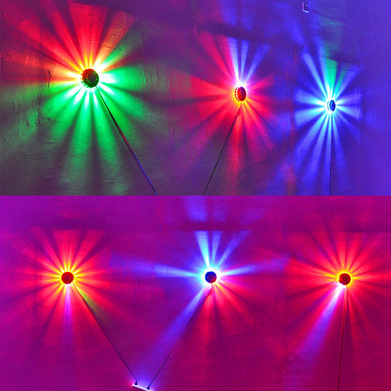 Transctego mini laser disco stage light 48 led rgb projector transctego mini laser disco stage light 48 led rgb projector lighting sunflower bar dj sound background wall lights party lamp in stage lighting effect from mozeypictures Image collections