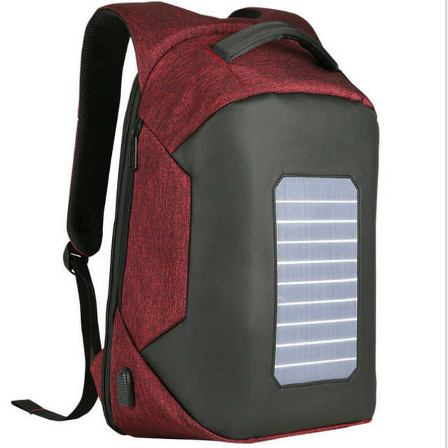 Solar Charging Anti-theft Backpack 15.6 inch Laptop  2