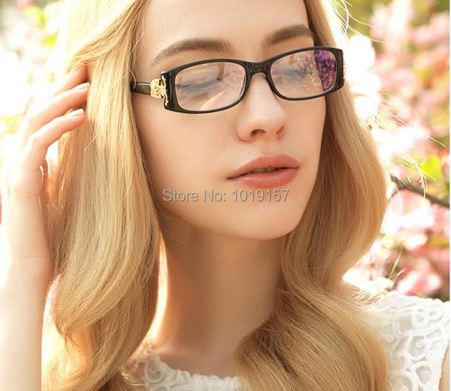 2017 Nova Moda Feminina Óculos Peso Leve Óculos de Miopia Óptico Quadro