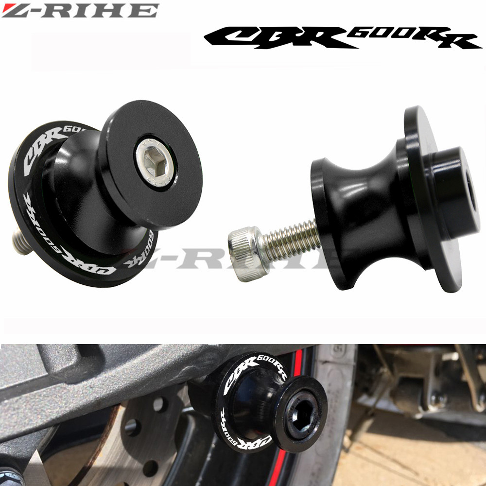 For Honda CBR600RR CBR 600 RR 2003-2011 2004 2005 2006 2007 2008 2009 2010 Motorcycle Swingarm Sliders Spools Stand Slider 8mm arashi 1 set for honda cbr 600 rr 2003 2004 2005 2006 2007 2008 2009 2015 cbr600rr front brake disk