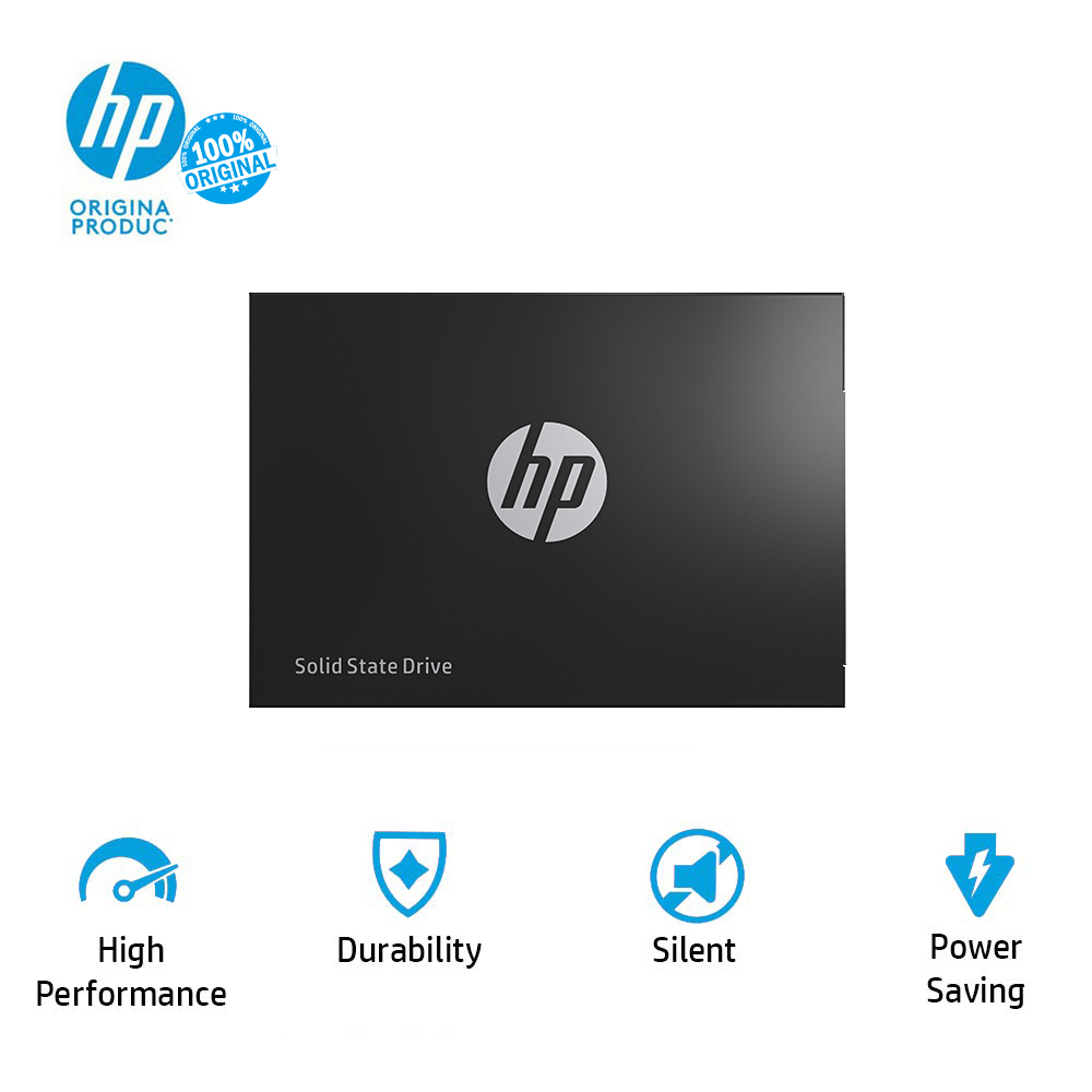 HP ssd 500gb sata3 Internal Solid State Drive 2.5 Hard Disk Disc HDD 3D NAND For laptops and pcs ssd 500gb notebook-in Internal Solid State Drives from Computer & Office    1