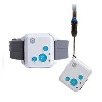Mini GPS Tracker Crianças Crianças Mão-de Conversação livre 2 RF-V16 G GSM GPS Locator 12 dias de Espera de Chamada SOS monitor de voz Livre APP Rastreador