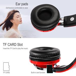 Image 5 - KOOYUTA Glowing Stereo Casque Audio Bluetooth Headphone Wireless LED Sport Headset with Mic Support TF&FM Function Auriculares